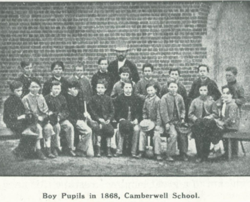 Camberwell Primary School 1868 Boys