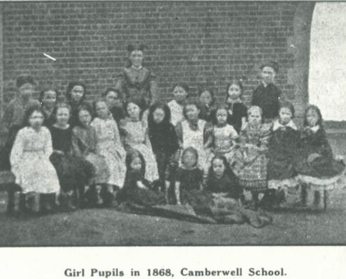 Camberwell Primary School GIrls 1868