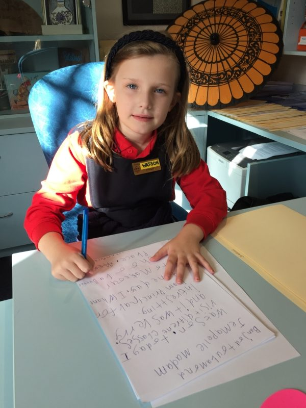 Camberwell Primary School Principal For A Day