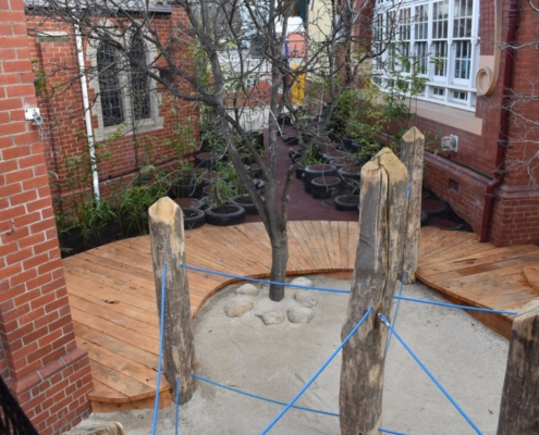 Camberwell Primary School Secret Garden View2